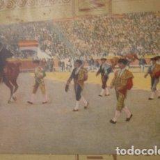 Tauromaquia: Nº1 SALIDA DE LA CUADRILLA - PORTAL DEL COL·LECCIONISTA *****. Lote 180474642