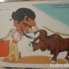Tauromaquia: CORRIDA DE TOROS ILUSTRADO POR ZOURO - PORTAL DEL COL·LECCIONISTA *****. Lote 180475490