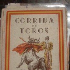 Tauromaquia: CORRIDA DE TOROS COLECCIÓN DE 12 POSTALES - PORTAL DEL COL·LECCIONISTA *****. Lote 180475755
