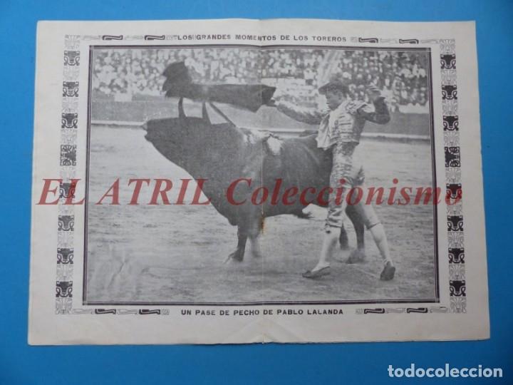 Tauromaquia: REVISTA TOROS LA CORRIDA, Nº 84 - AÑO 1921 - AUTOGRAFO ORIGINAL TORERO MANUEL GRANERO - MUY RARO - Foto 7 - 180481902