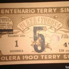 Tauromaquia: ENTRADA TOROS MADRID SAN ISIDRO 5 (1959). Lote 181960087
