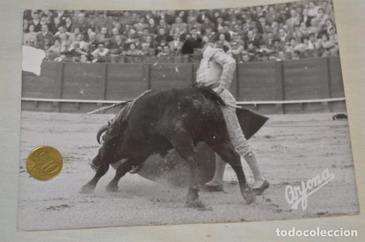 Tauromaquia: Colección de 17 fotografías variadas, de FESTEJOS TAURINOS y sus PERSONAJES - Años 50/60 ¡Mira! - Foto 2 - 182362163