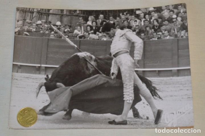 Tauromaquia: Colección de 17 fotografías variadas, de FESTEJOS TAURINOS y sus PERSONAJES - Años 50/60 ¡Mira! - Foto 5 - 182362163