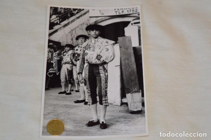 Tauromaquia: Colección de 17 fotografías variadas, de FESTEJOS TAURINOS y sus PERSONAJES - Años 50/60 ¡Mira! - Foto 6 - 182362163