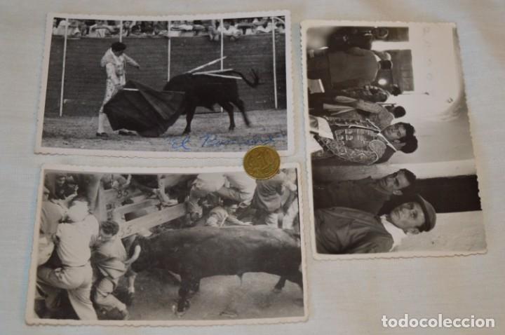Tauromaquia: Colección de 17 fotografías variadas, de FESTEJOS TAURINOS y sus PERSONAJES - Años 50/60 ¡Mira! - Foto 7 - 182362163