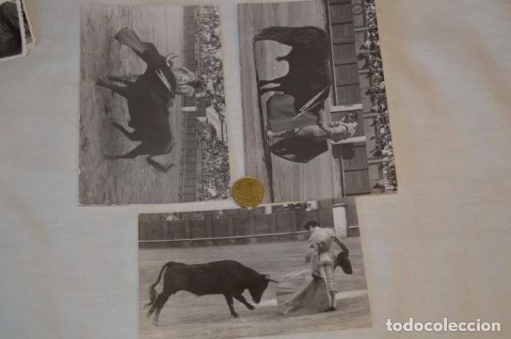 Tauromaquia: Colección de 17 fotografías variadas, de FESTEJOS TAURINOS y sus PERSONAJES - Años 50/60 ¡Mira! - Foto 8 - 182362163