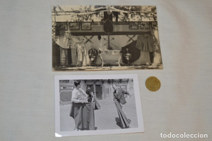 Tauromaquia: Colección de 17 fotografías variadas, de FESTEJOS TAURINOS y sus PERSONAJES - Años 50/60 ¡Mira! - Foto 9 - 182362163