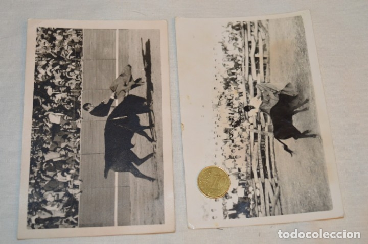 Tauromaquia: Colección de 17 fotografías variadas, de FESTEJOS TAURINOS y sus PERSONAJES - Años 50/60 ¡Mira! - Foto 10 - 182362163