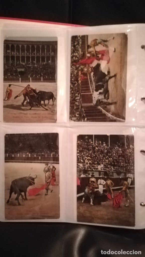 Tauromaquia: LOTE 52 POSTALES TAURINAS ANTIGUAS - Foto 12 - 182622562