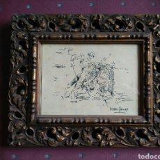 Tauromaquia: ROBERTO DOMINGO. PLUMILLA ORIGINAL TAURINA. Lote 182646370