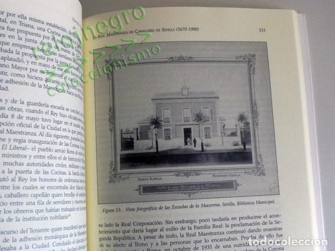 Tauromaquia: LA REAL MAESTRANZA DE CABALLERÍA SEVILLA 1670 1990 de JUEGOS ECUESTRES A FIESTA TOROS LIBRO HISTORIA - Foto 6 - 184732325