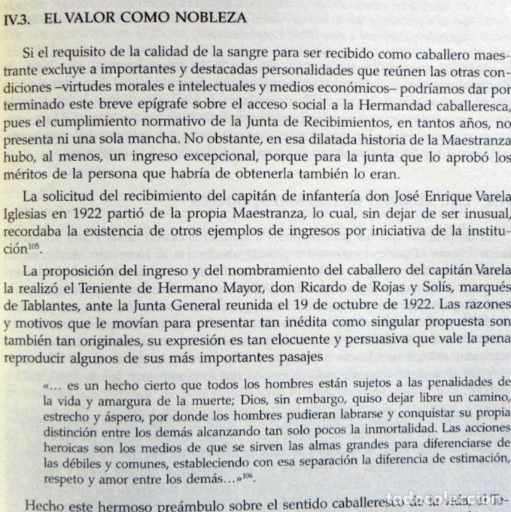 Tauromaquia: LA REAL MAESTRANZA DE CABALLERÍA SEVILLA 1670 1990 de JUEGOS ECUESTRES A FIESTA TOROS LIBRO HISTORIA - Foto 4 - 184732325