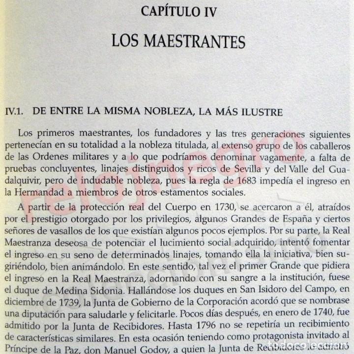 Tauromaquia: LA REAL MAESTRANZA DE CABALLERÍA SEVILLA 1670 1990 de JUEGOS ECUESTRES A FIESTA TOROS LIBRO HISTORIA - Foto 8 - 184732325