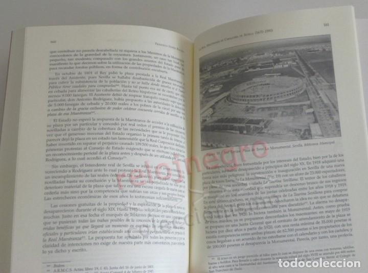 Tauromaquia: LA REAL MAESTRANZA DE CABALLERÍA SEVILLA 1670 1990 de JUEGOS ECUESTRES A FIESTA TOROS LIBRO HISTORIA - Foto 9 - 184732325
