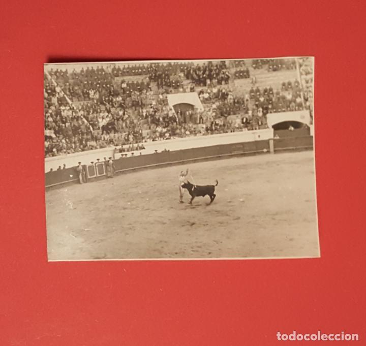 Tauromaquia: 6 fotografías antiguas: PLAZA de TOROS de MELILLA (1950's) ¡Originales! Coleccionista - Foto 3 - 186337941