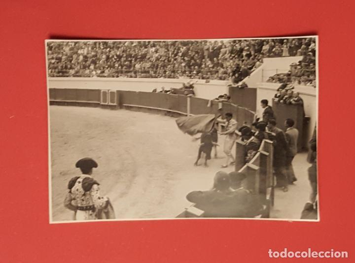 Tauromaquia: 6 fotografías antiguas: PLAZA de TOROS de MELILLA (1950's) ¡Originales! Coleccionista - Foto 6 - 186337941