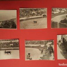 Tauromaquia: 6 FOTOGRAFÍAS ANTIGUAS: PLAZA DE TOROS DE MELILLA (1950'S) ¡ORIGINALES! COLECCIONISTA. Lote 186337941