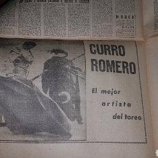 Tauromaquia: RECORTE PRENSA CURRO ROMERO. Lote 190432727