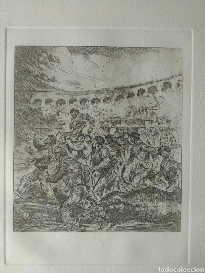 Tauromaquia: Grabado taurino. Antonio Casero - Foto 2 - 190733236