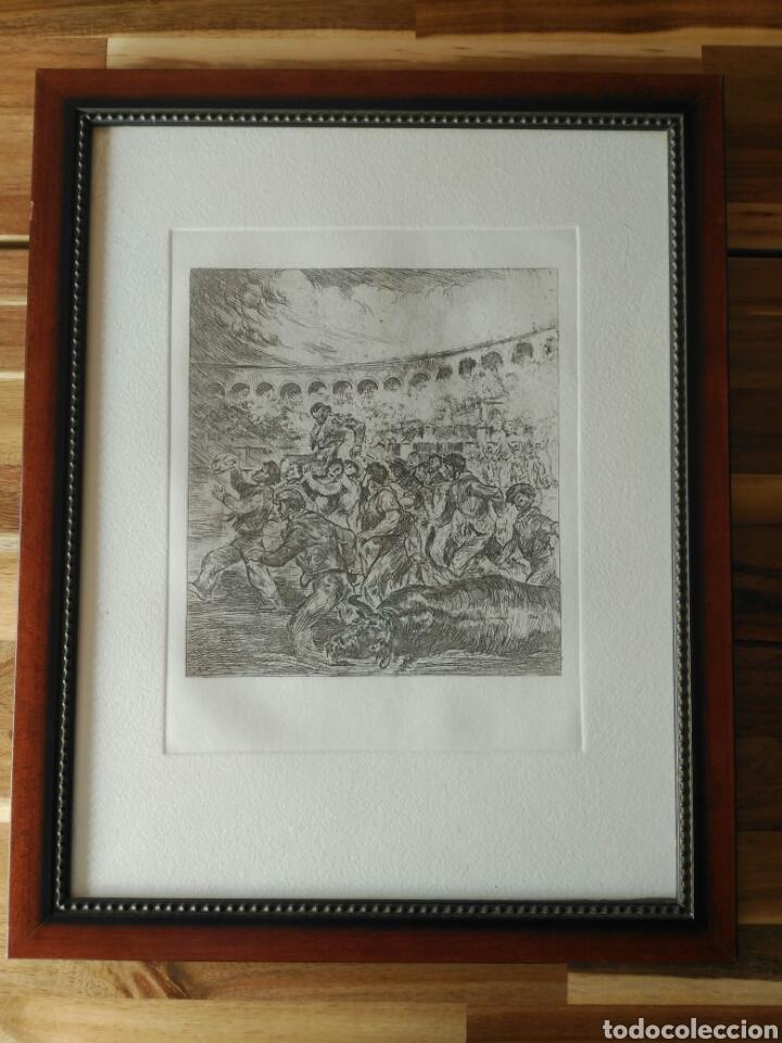 GRABADO TAURINO. ANTONIO CASERO (Coleccionismo - Tauromaquia)