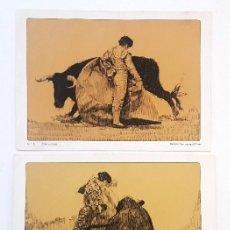 Tauromaquia: LAMINAS PUBLICIDAD LABORATORIOS MADE. BERNARDO OLAVARRIA. TOROS. Nº 5 Y 16. RECORTADAS.. Lote 191090485
