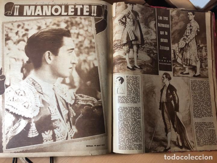 Tauromaquia: El Ruedo. Suplemento taurino de Marca. 40 primeros números. Toros. - Foto 6 - 191400985