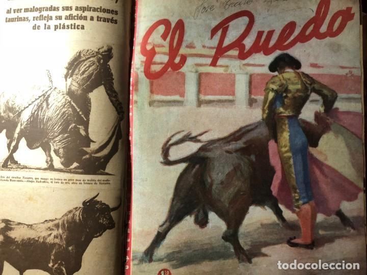 EL RUEDO. SUPLEMENTO TAURINO DE MARCA. 40 PRIMEROS NÚMEROS. TOROS. (Coleccionismo - Tauromaquia)
