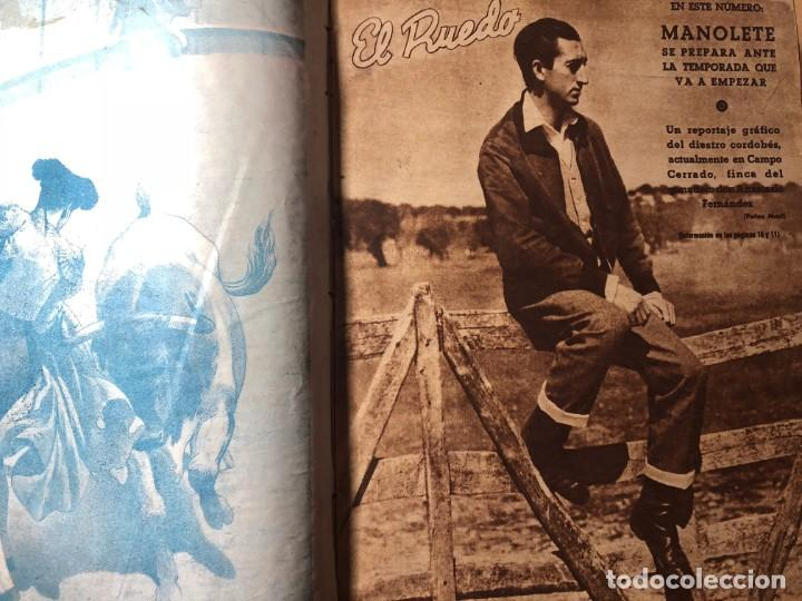 Tauromaquia: El Ruedo. Suplemento taurino de Marca. 40 primeros números. Toros. - Foto 5 - 191400985