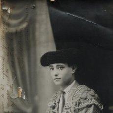 Tauromaquia: GRAN FOTOGRAFÍA ORIGINAL DE FLORENTINO BALLESTEROS 1916. Lote 192057551