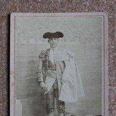 Tauromaquia: FOTOGRAFÍA ANTIGUA ORIGINAL SOBRE CARTÓN. RAFAEL GUERRA GUERRITA. SEVILLA. E. BEAUCHY. Lote 192560520