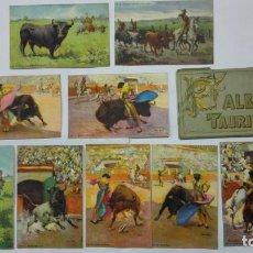 Tauromachie: ALBUM TAURINO, 2O POSTALES, ILUSTRADAS, CARLOS RUANO LLOPIS. Lote 192922458