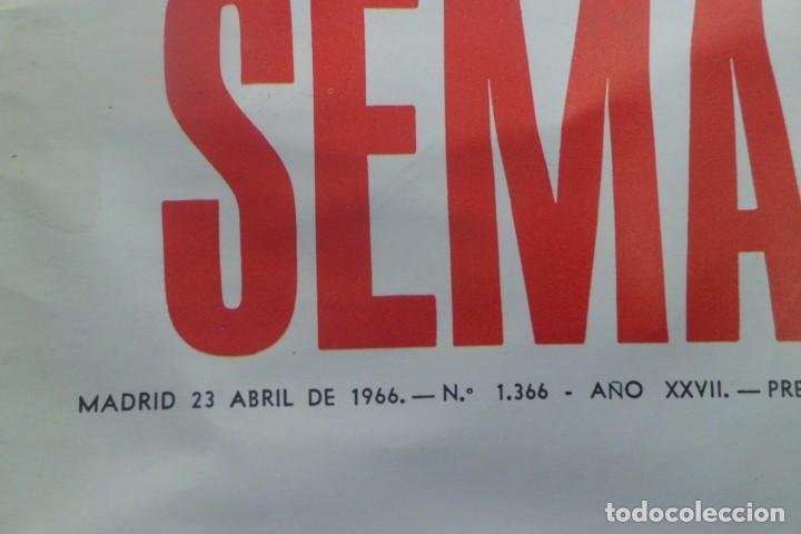 Tauromaquia: REVISTA SEMANA, AÑOS 60, LOS 3 TOREROS DEL MOMENTO - Foto 2 - 194085496
