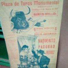 Tauromaquia: BANDERILLA TEMA TAURINO. Lote 194247981