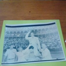 Tauromaquia: FOTO EFE. MIGUEL ARROYO. JOSELITO. SALAMANCA. 18.9.92, EST24B7. Lote 194336473