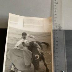 Tauromaquia: FOTO. ÁNGEL AGUDO MARTÍNEZ. EL GRECO. ESCASAS FOTOS. Lote 194493296