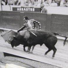 Tauromaquia: 67 FOTOGRAFIAS DE TOREROS, CORRIDAS Y TOROS. AÑOS 1965 A 1973. 13 X 18 CM. Lote 194516170