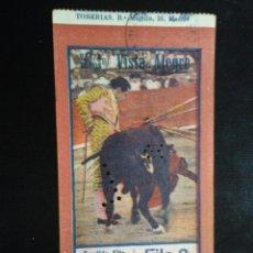 Tauromaquia: ENTRADA TOROS VISTA ALEGRE MADRID. AÑOS 50 M2. Lote 194723240