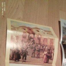 Tauromaquia: CARTEL PLAZA DE TOROS DE SEVILLA.- 31 MARZO 1991.- CURRO ROMERO, ESPARTACO Y PAREJA OBREGON. Lote 194723988