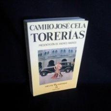 Tauromaquia: CAMILO JOSE CELA - TORERIAS - COLECCION LA TAUROMAQUIA 1991. Lote 194755688