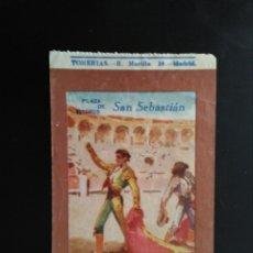 Tauromaquia: ENTRADA TOROS SAN SEBASTIAN (23/08/1953). Lote 194768577
