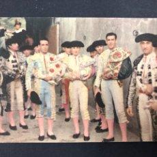 Tauromaquia: POSTAL TOREROS ANTES DE LA CORRIDA, FOTO MATURANA - AÑOS 20 TAUROMAQUIA. Lote 194886892