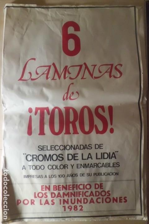 GRANDE Y PRECIOSA COLECCION DE LAMINAS, CENTENARIO DE LA LIDIA (Coleccionismo - Tauromaquia)