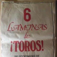 Tauromaquia: GRANDE Y PRECIOSA COLECCION DE LAMINAS, CENTENARIO DE LA LIDIA. Lote 194890848