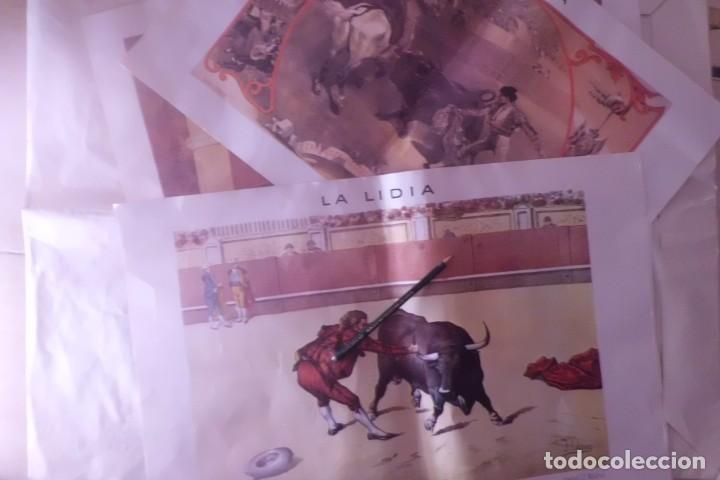 Tauromaquia: GRANDE Y PRECIOSA COLECCION DE LAMINAS, CENTENARIO DE LA LIDIA - Foto 2 - 194890848