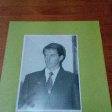 Tauromaquia: FOTO DE TORERO. ARCHIVO DE DIARIO. CRISTO GONZALEZ,. EST24B7. Lote 194908951