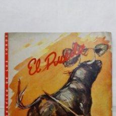 Tauromaquia: EL RUEDO - SEMANARIO GRAFICO DE LOS TOROS, Nº 224, OCTUBRE 1948. Lote 194968052