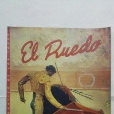 Tauromaquia: EL RUEDO - SEMANARIO GRAFICO DE LOS TOROS, Nº 139, FEBRERO 1947. Lote 195035621
