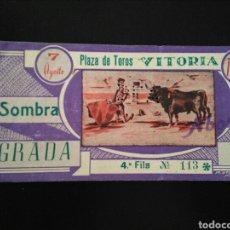 Tauromaquia: ENTRADA TOROS VITORIA (7/8/1959). Lote 195107153