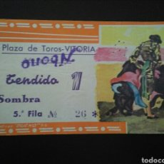 Tauromaquia: ENTRADA TOROS VITORIA (5/8/1964). Lote 195107406