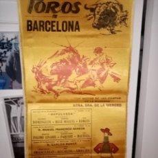 Tauromaquia: TOROS EN BARCELONA FIESTA DE LA MERCED DOMINGUIZ R. MIGUEL -ROBLES.PAQUIRRI Y OTRAS FIGURAS . Lote 195139360